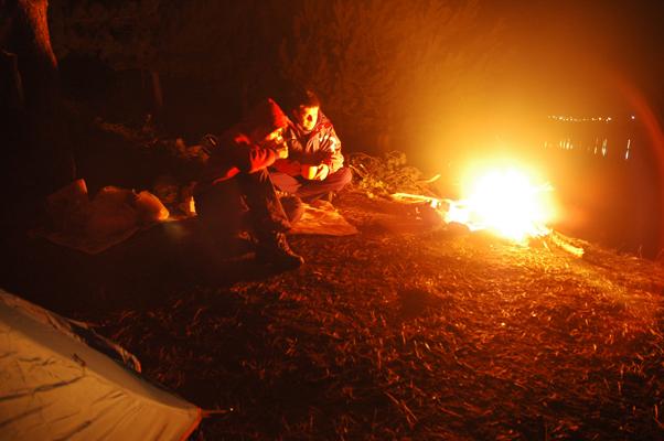Kamp, şapşal balık ve tarih