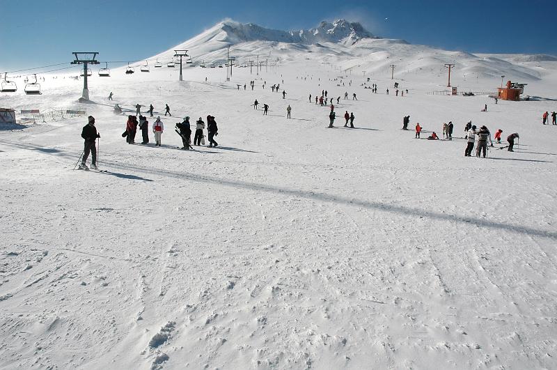 Biri snowboard mu dedi?